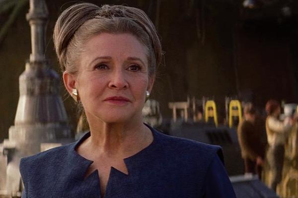 Carrie Fisher rivivrà nel prossimo Star War grazie a vecchie scene inedite